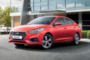 Hyundai Accent 2018 thế hệ hoàn toàn mới với thiết kế năng động trẻ trung